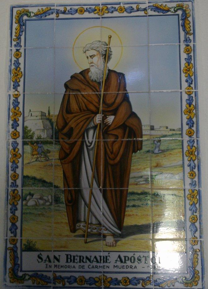 Cuadro en la Ermita de San Bernabé